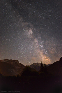 Milky Way over Triglav NP, Slovenia