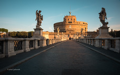 Sant'Angelo (pietkagab) Tags: santangelo bridge castle castel angel statues morning light rome ponte roma italy italian roman europe european hadrian mausoleum monument pietkagab photography pentax piotrgaborek pentaxk5ii travel trip tourism sightseeing