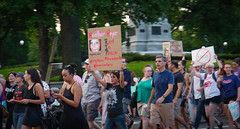 2017.08.13 Charlottesville Candlelight Vigil, Washington, DC USA 8077
