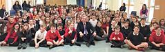 Visiting Dunbar Primary School for World of Work Week