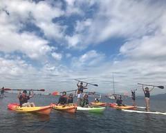 Paddle crew in Vancouver ! (Samesun Backpacker Hostels) Tags: stanleypark tour hostel bcisbeautiful activebc samesunvan