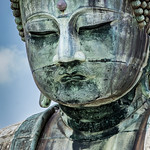 A close up on Kōtoku-in's Bouddha thumbnail