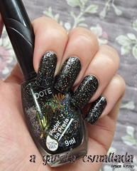Esmalte Black (Colorama) e O Poder da Preta (Dote - Ludmilla). (A Garota Esmaltada) Tags: agarotaesmaltada unhas esmaltes nails nailpolish manicure black colorama opoderdapreta ludmilla dote preto glitter