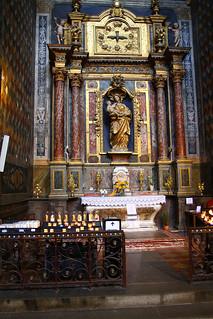 Interieur van de Kathedraal Sainte Cecile, Albi, France