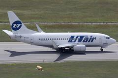 UTAir Boeing 737-524 VP-BXY (c/n 27328) (Manfred Saitz) Tags: vienna airport schwechat vie loww flughafen wien ut air boeing 737500 735 b735 vpbxy vpreg
