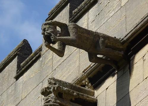 Gargoyle, St Wulfram's, Grantham