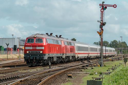 218 344-0 + 218 366-3 DB Fernverkehr Westerland (Sylt) 21.08.17
