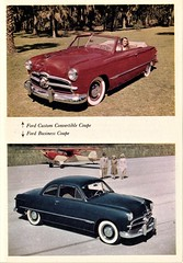 1949 Ford Convertible & Coupe (aldenjewell) Tags: 1949 ford custom convertible coupe business times magazine july 1948