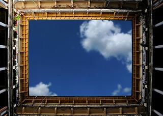 the sky over budapest (budapest, hungary)