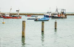 Folkestone Harbour 3 posts (philbarnes4) Tags: folkestone harbour folkestoneharbour dslr water sea nikond80 philbarnes boats fishingboats kent england