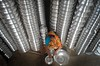 Aluminium factory! (ashik mahmud 1847) Tags: bangladesh nikkor d5100 light woman working pattern group factory
