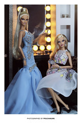 "THE BLONDS BLOND ""GOLD"" & ""DIAMOND"" | BARBIE DOLL (PruchanunR.) Tags: the blonds blond gold diamond barbie doll"