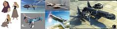 borealis_inspo (Cagerrin) Tags: lego inspiration skyfi plane airplane aurora briarrose crimsonskies firebrand dehavillandhornet