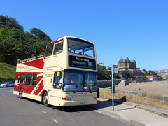 Scarborough & District Sea Front Service (miledorcha) Tags: eyms east yorkshire motor services 884 794eyd scarborough district 109 open top bus service sea front route summer holidays tourist travel psv pcv topper conversion north coast london central pvl193 x593egk daytipper leisure volvo b7tl plaxton president