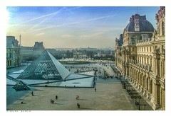 Twilight from the Louvre, Paris, France. (Richard Murrin Art) Tags: twilightfromthelouvre paris france richard murrin art photography canon 5d landscape travel images building cool