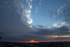 East (shannon_blueswf) Tags: beach sunrise sky skyscape morning sun light illumination orange beautiful beautyinnature nikon nikond3300 nikonphotography dawn clouds summer view nature amazing florida