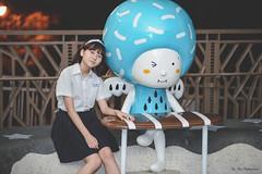 兒童新樂園外拍:羽葶 (Yu-Chu Lien) Tags: 人像 外拍 寫真 girl 兒童新樂園 兒童樂園 羽葶 制服 uniform nikon df 105mm 林羽葶