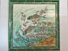 54 Fish and Chip Shop Mosaic (robertknight16) Tags: blackcountry museum dudle shop fishchipe fish mosaic