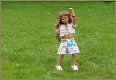 Anne-Moni ... (Kindergartenkinder) Tags: sommer blumen personen kindergartenkinder garten blume park annette himstedt dolls annemoni wasserschlosslembeck
