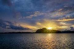 Sunset at Hong Islands, Thailand (jescueta) Tags: landscapephotography fujifilm fujixt2 hongislands starburst sunset thailand