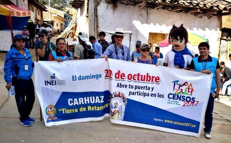 Amashca - Carhuaz: difusión de los Censos Nacionales 2017 - 4