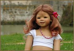 Anne-Moni ... (Kindergartenkinder) Tags: sommer blumen kindergartenkinder garten blume park annette himstedt dolls annemoni wasserschlosslembeck