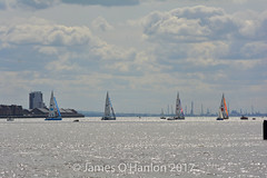 Clipper Vessels leaving Liverpool 20-8-17 (James O'Hanlon) Tags: clipperrace clipper race 2017 201718 liverpool rivermersey river mersey england uk vessel yacht round world roundtheworld yachtrace albert dock canning
