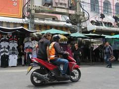 Space Invader BGK_36 (tofz4u) Tags: bangkok krungthep thailand thailande streetart artderue invader spaceinvader spaceinvaders mosaïque mosaic tile bgk36 street rue people moto bike motobike mototaxi
