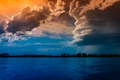 Before the Storm (Yarin Asanth) Tags: summer2017 yarinasanth gerdkozik paddling surface water thunderstorm report weather race140 redpaddleco surfing orange blue clouds lakeconstance esjupi sup wind rain storm rainy cloudy bodensee deutschland mettnau island gerdkozikphotography gerd kozik yarin asanth yarinasanthphotography gerdmichaelkozik gerdkozikfotografie
