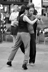 Tango in Toulouse V (glarigno) Tags: d610 dance danse dancer dancers danseuse danseurs danseuses danseur toulouse tango france europe europa people street personnes