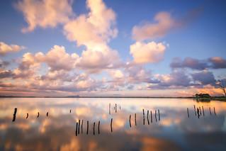 Still Reflections On Fogliano Lake