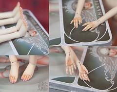 Enchanted Doll by Marina Bychkova (theugliestwife) Tags: bjd balljointeddoll doll artdoll art enchanteddoll enchanted marinabychkova marina bychkova custom ooak handmade dollmakeup faceup manicure pedicure