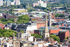 Bristol cityscape (Joe Dunckley) Tags: brandonhill bristol cabottower couragebrewery england lawrencehill leadshottower stnicholaschurch uk apa apartmentbuilding architecture building church concrete councilestate fromabove house housing socialhousing spire summer sunny tower