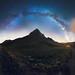 Paramount II (Aurélien BERNARD) Tags: milky way arch mountain paramount