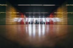 1613 (explored) (.niraw) Tags: stuttgart ubahn tunnel strasenfotografie niraw mann anzug bunt farben treppe rolltreppe boden gegenlicht spiegelung symmetrie