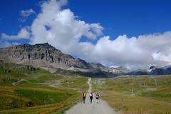On our way (pablerasenprimavera) Tags: alps cervino matterhorn trekking