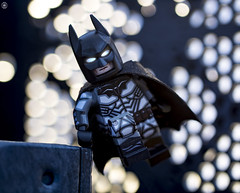 Batman Arkham Knight (Jezbags) Tags: lego legos toys toy macro macrophotography macrodreams macrolego canon60d canon 60d 100mm closeup upclose batman dc dclego legodc arkham knight