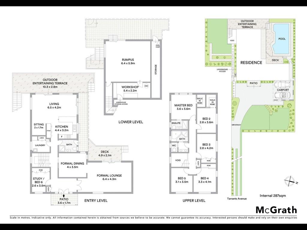 86A Tarrants Avenue floorplan