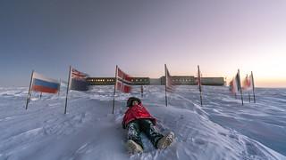 Ceremonial South Pole Selfie 3 of 3