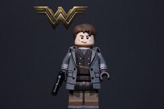 Wonder Woman - Steve Trevor (JECProductionstudios) Tags: lego wonderwoman dccomics dc stevetrevor legocustom