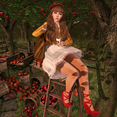 {Blog 282} Apple Picking (veronica gearz) Tags: avatar avi blog blogger bloggers blogging blogs bowtique secondlife second sl autumn fall maitreya mesh 2ndlife life lelutka moonamore friday reign exile powderpack essences izzies minimal kirin jian revival applefall studioskye alirium wereclosed apple apples applepicking