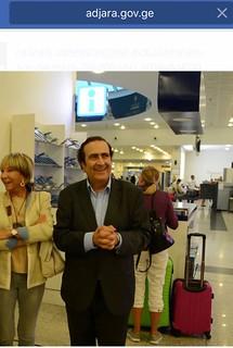 Michel Sogny à Batumi Géorgie