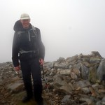 Me on the summit of Beinn Liath Mhor Fannich (954m), my 92nd Munro thumbnail