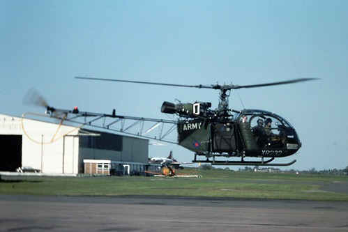 XR232 Sud Aviation Alouette Army Air Corp CVT May 77