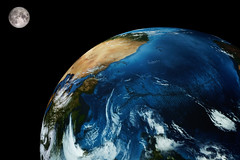Wunder der Natur (GST Foto's) Tags: weltkugel erde mond planet