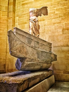 The Louvre  ~ Paris  France  ~ Winged Goddess of Victory