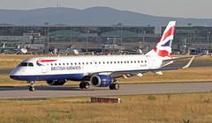 G-LCYS EDDF 19-06-2017 (Burmarrad (Mark) Camenzuli) Tags: airline ba cityflyer aircraft embraer 170100std registration glcys cn 17000663 eddf 19062017