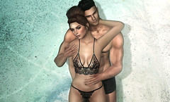 ❤ Hold me close (Quistis Shippe) Tags: deaddollz corinna lingerie maitreya froufrou mesh posed couplepose secondlife love