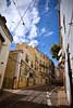 Tramlines (Jocelyn777) Tags: architecture streets lisbon lisboa portugal travel textured