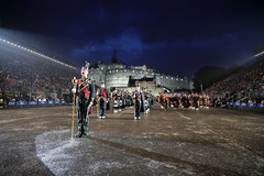 Tattoo 2nd Visit-48 (Philip Gillespie) Tags: 2017 edinburgh international military tattoo splash tartan scotland city castle canon 5dsr crowds people boys girls men women dancing music display pipes bagpipes drums fireworks costumes color colour flags crowd lighting esplanade mass smoke steam ramparts young old cityscape night sky clouds yellow blue oarange purple red green lights guns helicopter band orchestra singers rain umbrella shadows army navy raf airmen sailors soldiers india france australia battle reflections japan fire flames celtic clans
